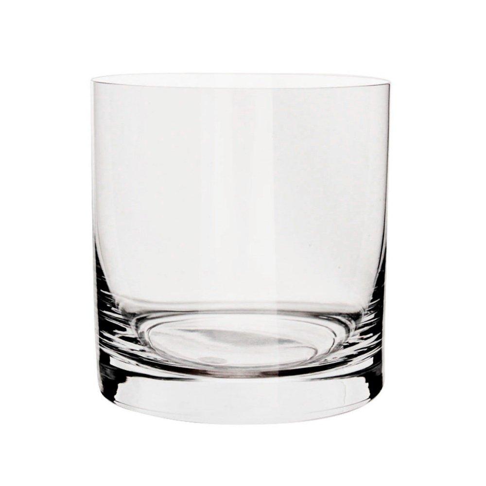 Cristal de Bohemia - vaso de cristal juego de 6 vasos de agua, vasos, copas de bebidas de luz Bohemia Crystal