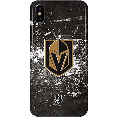 Vegas Golden Knights iPhone X Case - Vegas Golden Knights Frozen | NHL X Skinit Lite Case