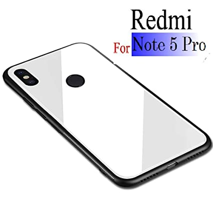 timeless design 7243a 02dd1 KARWAN Glass Back Cover for XIAOMI REDMI Note 5 PRO: Amazon.in ...