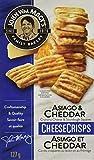 John Wm. Macy's Cheddar & Asiago Cheesecrisps, 127g
