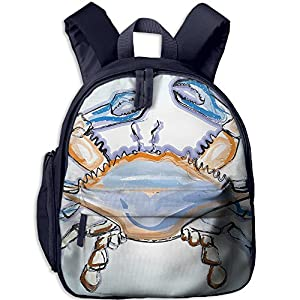 Funny Sunshine Seaside Printed Children's Shoulder Bag School Backpack Bags
