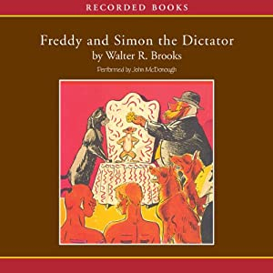 Freddy and Simon the Dictator Audiobook