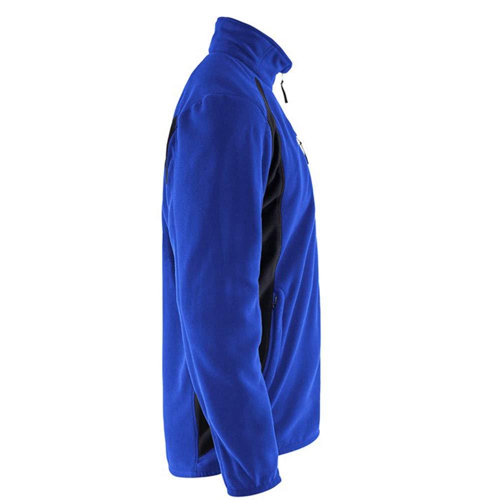 Blaklader Workwear Fleece Jacket Cornflower Blue//Black XXL