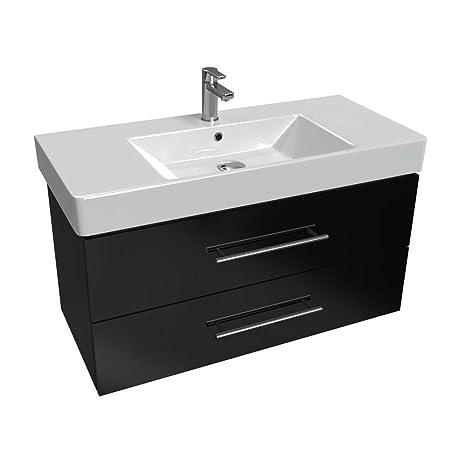 Lavelli Cucina In Ceramica Con Mobile.Aqua Bagno Mobili Da Bagno Centro 100 Cm Con Lavandino In