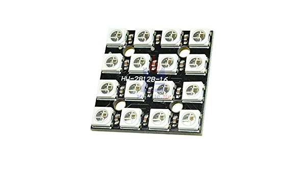 4x4bit Channel WS2812B 5050 RGB 16 LED Light Strip Driver Board for Arduino A2TD