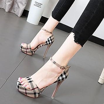 Xue Qiqi Sandalen weibliche Mode in der high-heel Schuhe wasserdicht Taiwan fein mit Damenschuhe und Vielseitig