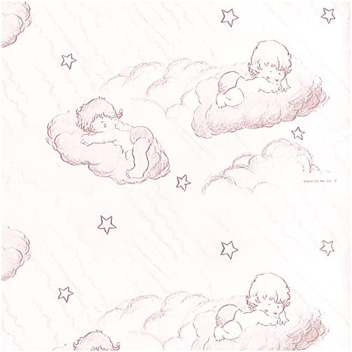 Dream On Me Foam Play Yard Mattress, Cloud Pink, 3″