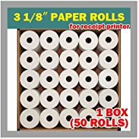 Pos Thermal Receipt Paper 3 1/8x230 50rolls