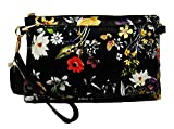 Mellow World Floral Bag (Mellow World Evie Floral Wristlet - black)