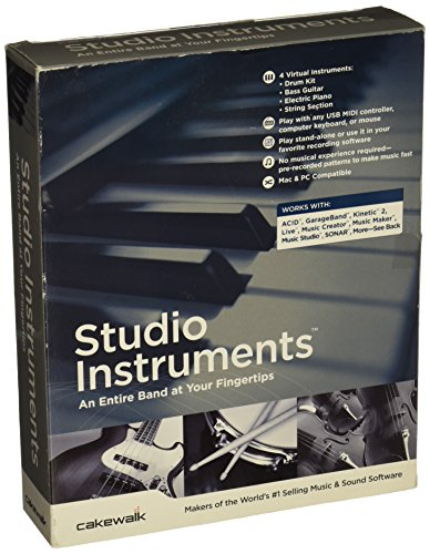 - Cakewalk Studio Instruments ( Windows Macintosh )