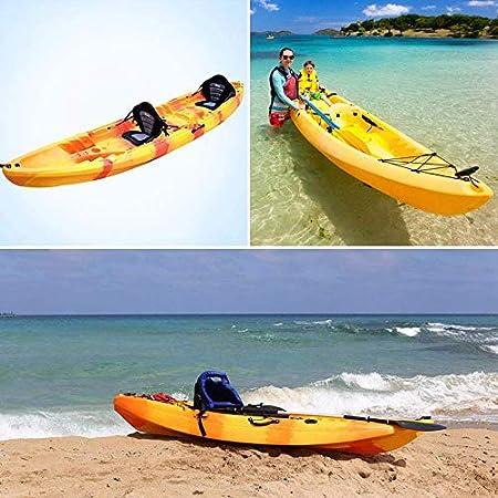 Bestlymood Asas De Transporte De Montaje Lateral De Kayac De Bote De Goma para Kayak Canoa Barco