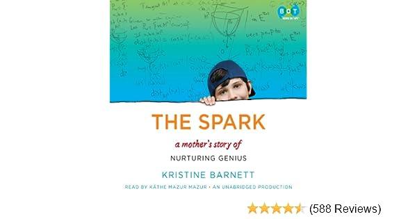 Nurturing Genius >> Amazon Com The Spark A Mother S Story Of Nurturing Genius Audible