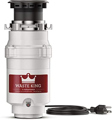 Waste King L-1001 Garbage Disposal with Power Cord,