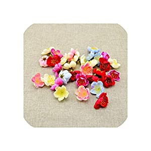 April With You 30pcs Artificial Flowers for Home Wedding Decoration Accessories Silk Cherry DIY Wreaths Bridesmaids Headdress 75