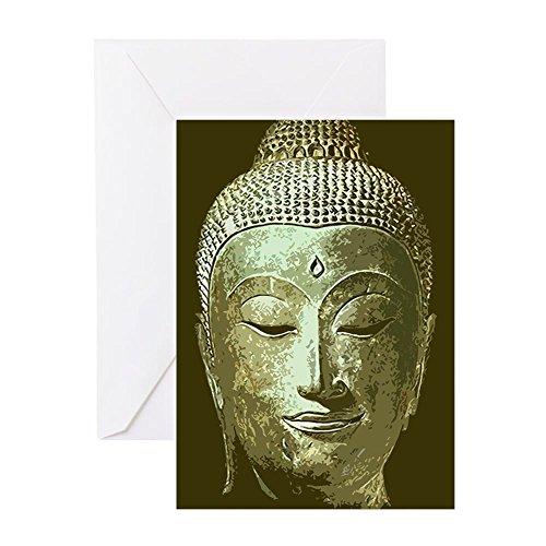 Buddha Card - CafePress Siddhartha Greeting Card, Note Card, Birthday Card, Blank Inside Glossy