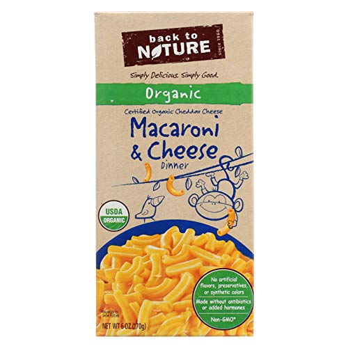 (Back to Nature Organic Macaroni and Cheese Dinner, 6 Ounce - 12 per case.)