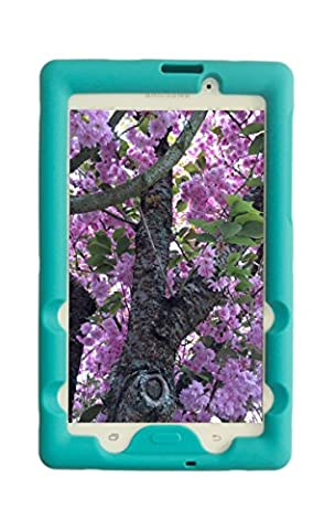 Bobj Rugged Case for Samsung Galaxy Tab A 7 inch SM-T280 SM-T285 - BobjGear Custom Fit - Patented Venting - Sound Amplification - BobjBounces Kid Friendly (Terrific