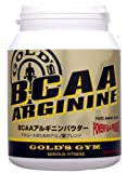 GOLD'S GYM BCAA / Arginine Powder 400g