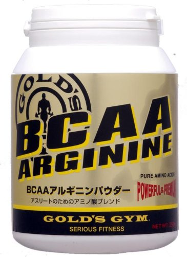 GOLD'S GYM BCAA / Arginine Powder 400g by Gold's Gym (GOLD'S GYM)
