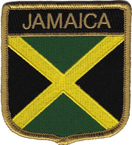 Application Jamaica Flag Patch (Jamaica Flag Patch)