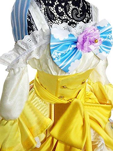 Mtxc Women's Love Live! Cosplay Rin Hoshizora Ball Dress SR Card Ver. Size Medium Yellow by Mtxc (Image #2)