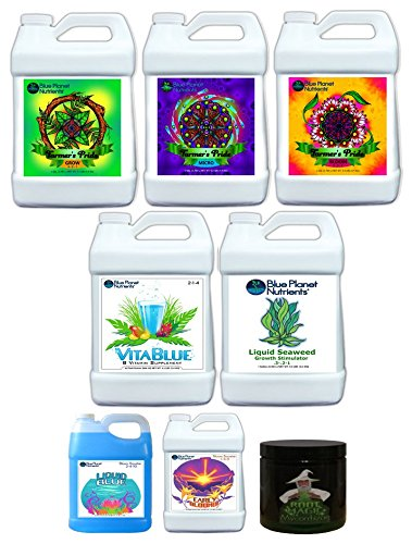 Blue Planet Nutrients Farmer's Pride Organic High Yield System by Blue Planet Nutrients