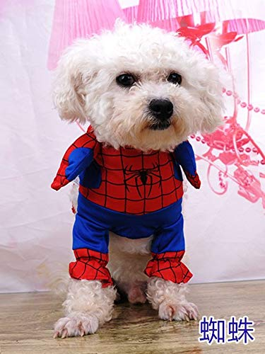 Cowmole Co. Cosplay Dog Clothes for Small Dogs Winter French Bulldog Jacket Standing Cartoon Dog Halloween Costume Chihuahua Pet -