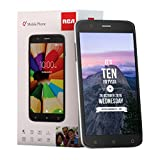 RCA Q1 4G LTE, 16GB, Unlocked Dual SIM Cell Phone, Android 6.0 - Black