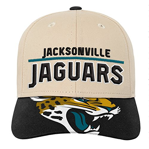 Outerstuff NFL NFL Jacksonville Jaguars Youth Boys Retro Style Logo Structured Hat Black, Youth One Size