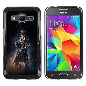 LECELL--Funda protectora / Cubierta / Piel For Samsung Galaxy Core Prime -- ASESINOS DEL PIRATA MACHO --
