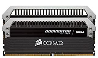 CORSAIR DOMINATOR Platinum Series 32GB (2 x 16GB) DDR4 DRAM 3000MHz C15 memory kit (CMD32GX4M2B3000C15) (B016BWENUI)   Amazon price tracker / tracking, Amazon price history charts, Amazon price watches, Amazon price drop alerts