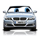 HS (12201) Blue Eyes Double-Sided Car Sunshade