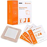 Silicone Foam Dressing with Gentle Adhesive Border