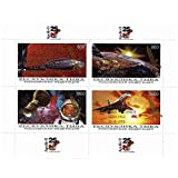 Space stamps for collectors - Apollo 11 - 25th Anniversary - 4 Space themed stamps ideal for collecting - superb condition - Mint NH