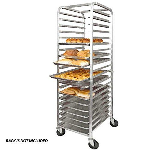 Aluminum Sheet Pan (Set of 12), Baking Pans, Full Size Commercial Baker 1 Dozen...