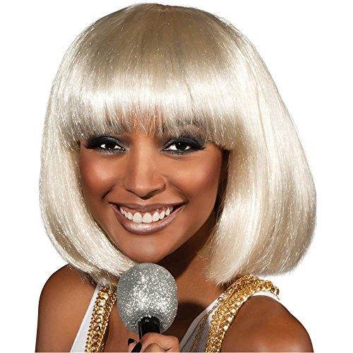 Rihanna Blonde Concert Wig - One Size