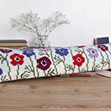 Twilleys - Anemones - Cross Stitch Draft Excluder Kit (large count) by Twilleys