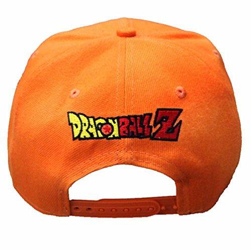 inDomit Adjustable Canvas Baseball Cap for Anime Dragonball Z Goku Fans or Cosplayer