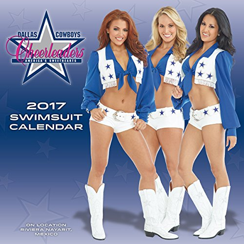 Turner Licensing 2017 Dallas Cowboys Cheerleaders Wall Calendar, 15
