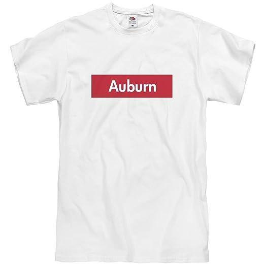 bf92aa03de93c1 Amazon.com  FUNNYSHIRTS.ORG Supreme Auburn Tee  Unisex T-Shirt  Clothing