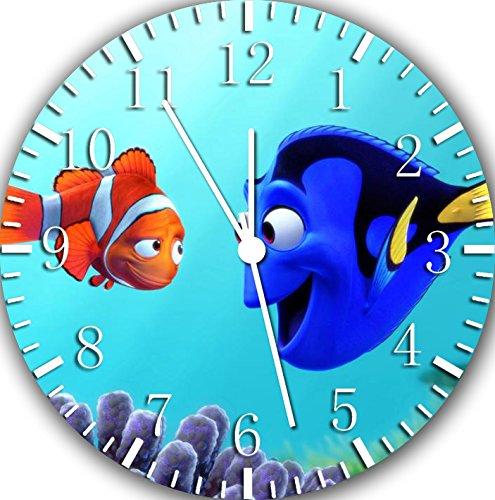Borderless Finding Dory Nemo Frameless Wall Clock E96 Nice for Decor Or Gifts