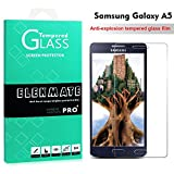Samsung Galaxy A5 Screen Protector, ELEKMATE® Tempered Glass Screen Protector for Samsung Galaxy A5 [Retail Package]