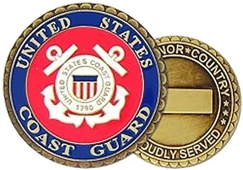 Us Coast Guard Challenge Coin - U.S. Coast Guard Challenge Coin