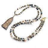 Buddha Necklace | Thai Buddha Pendant | Semiprecious Gemstone Necklace | Multi Gemstone Necklace