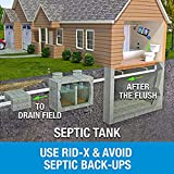 Rid-X Septic Tank Treatment Enzymes, 3 Month Supply Septi-Pacs, 3.2oz