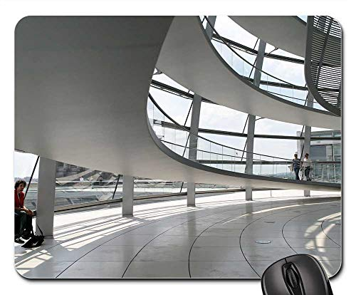 Mouse Pads - Berlin Reichstag Architecture Dome Germany