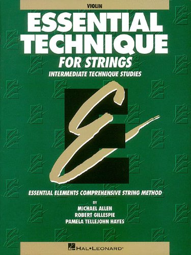 Essential Technique for Strings (Original Series): Violin (Essential Elements) ()