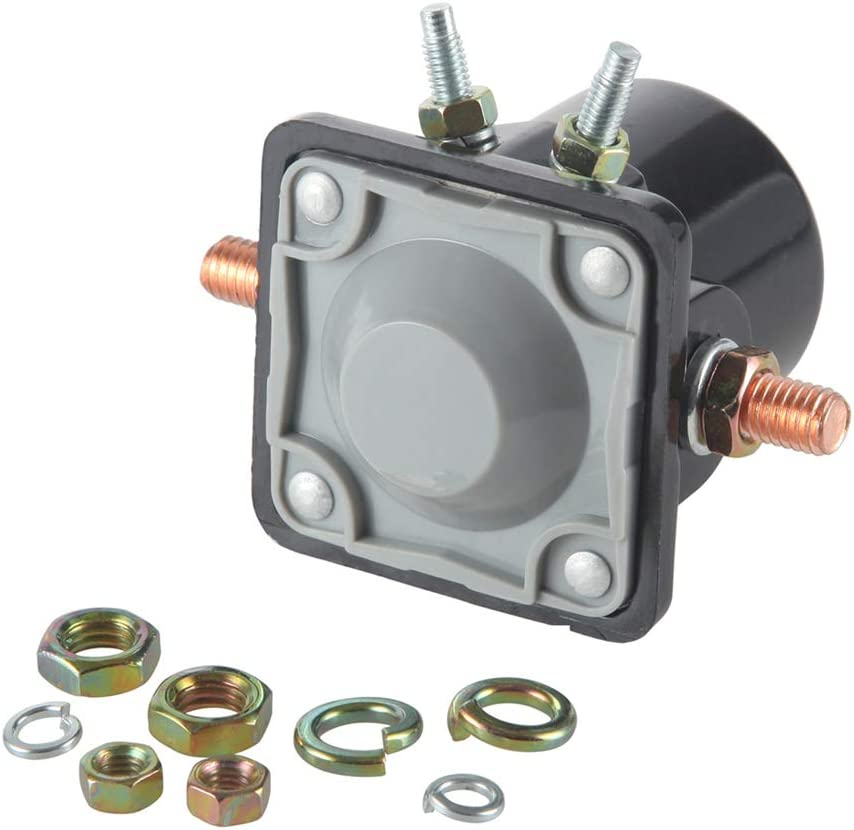 MIDIYA Starter Relay SMR6003 Starter Solenoid Switch Used On OMC Marine Outboards/Inboard Power Tilt/Johnson/Trim Motor Applications Evinrude Outboard