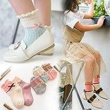 XIU*RONG Children'S Socks Children Aged 3-5-7-9-12 10 Spring Cotton Socks In Winter, Girls Girls Deodorant Socks,9-12 Years Old (Foot Length 18-20Cm),Ykj18073 Socks For Children 5 Pairs