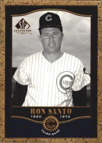 2001 SP Legendary Cuts Baseball Card #23 Ron Santo